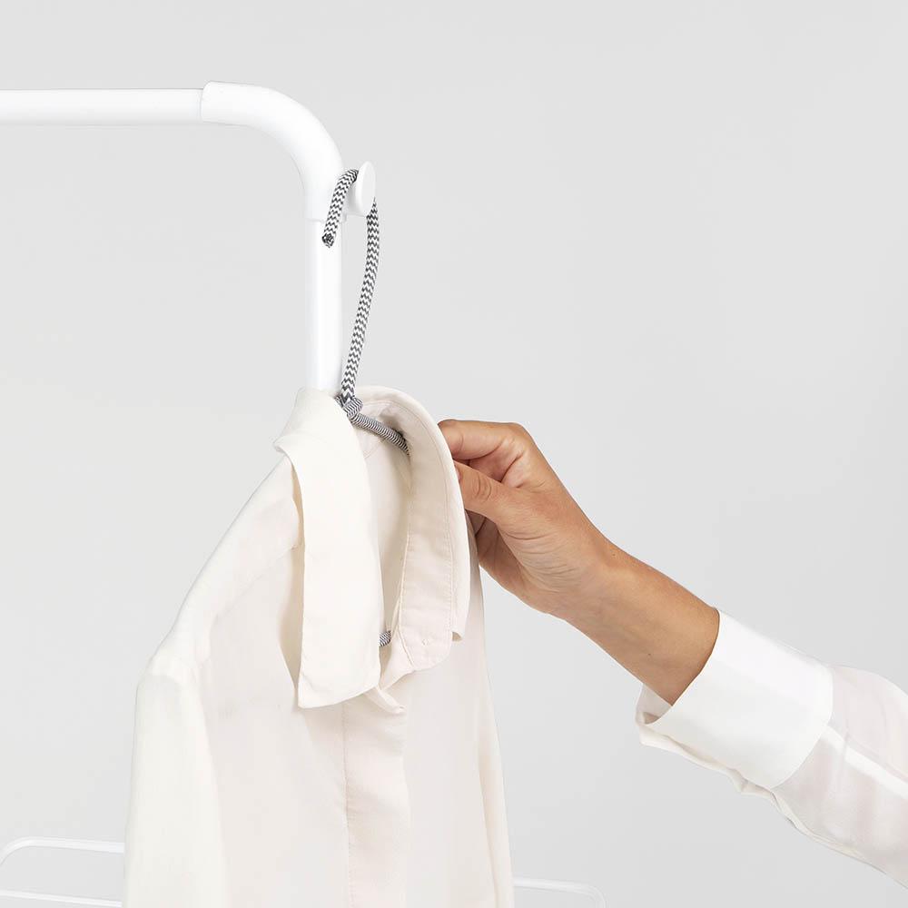 Сушилник за дрехи Brabantia Hangon, 25m, допълнителен прът, Fresh White(18)