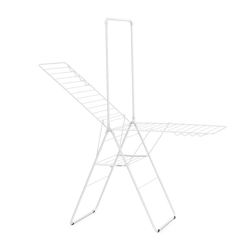 Сушилник за дрехи Brabantia Hangon, 25m, допълнителен прът, Fresh White(2)