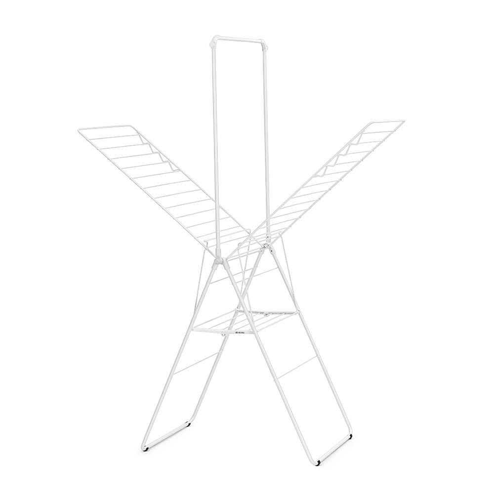 Сушилник за дрехи Brabantia Hangon, 25m, допълнителен прът, Fresh White(3)