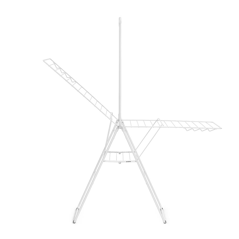 Сушилник за дрехи Brabantia Hangon, 25m, допълнителен прът, Fresh White(6)