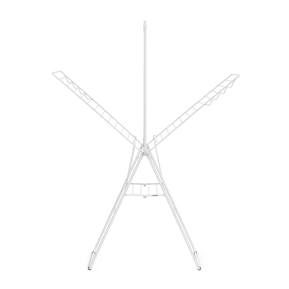 Сушилник за дрехи Brabantia Hangon, 25m, допълнителен прът, Fresh White(7)