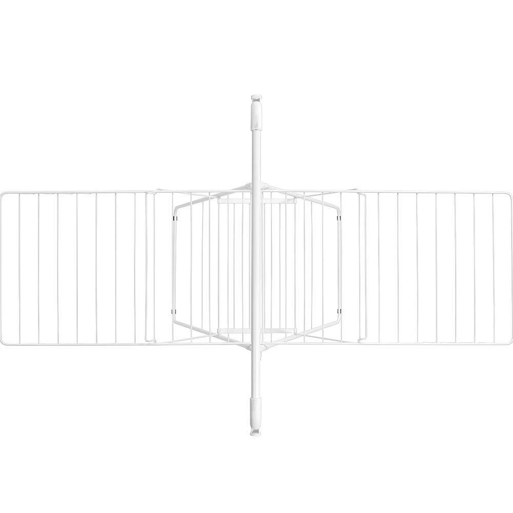 Сушилник за дрехи Brabantia Hangon, 25m, допълнителен прът, Fresh White(9)