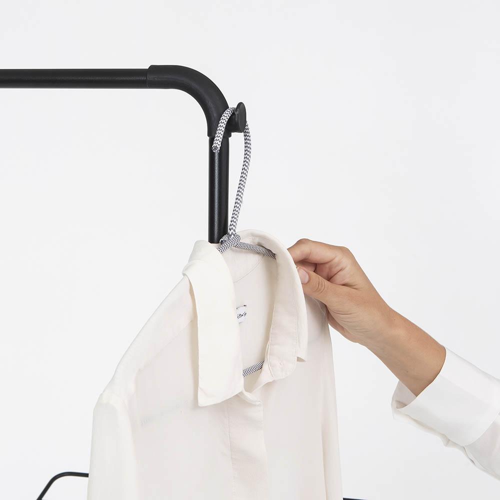 Сушилник за дрехи Brabantia Hangon, 25m, допълнителен прът, Matt Black(17)