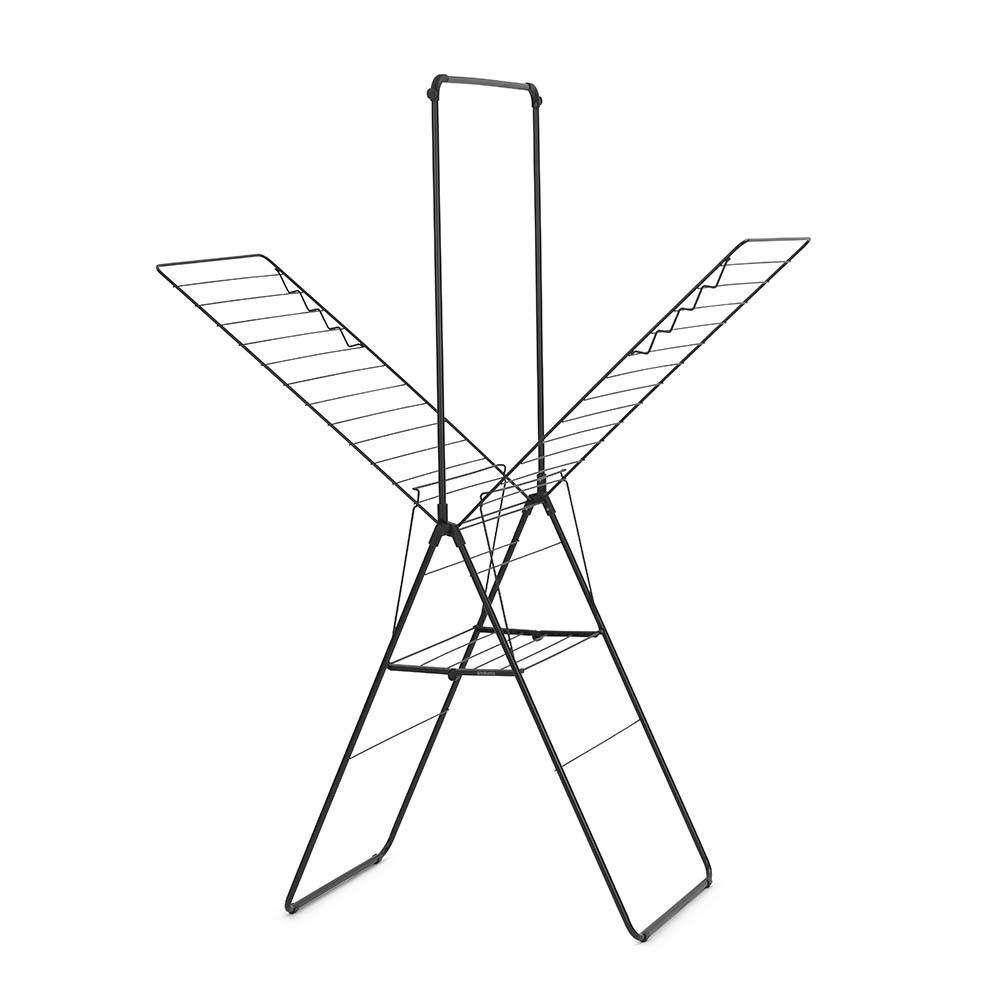 Сушилник за дрехи Brabantia Hangon, 25m, допълнителен прът, Matt Black(3)