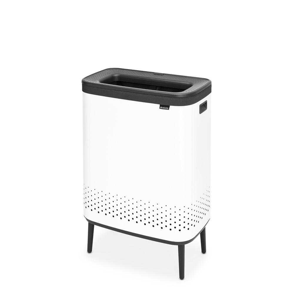 Кош за пране Brabantia Bo 2x45L, White(1)