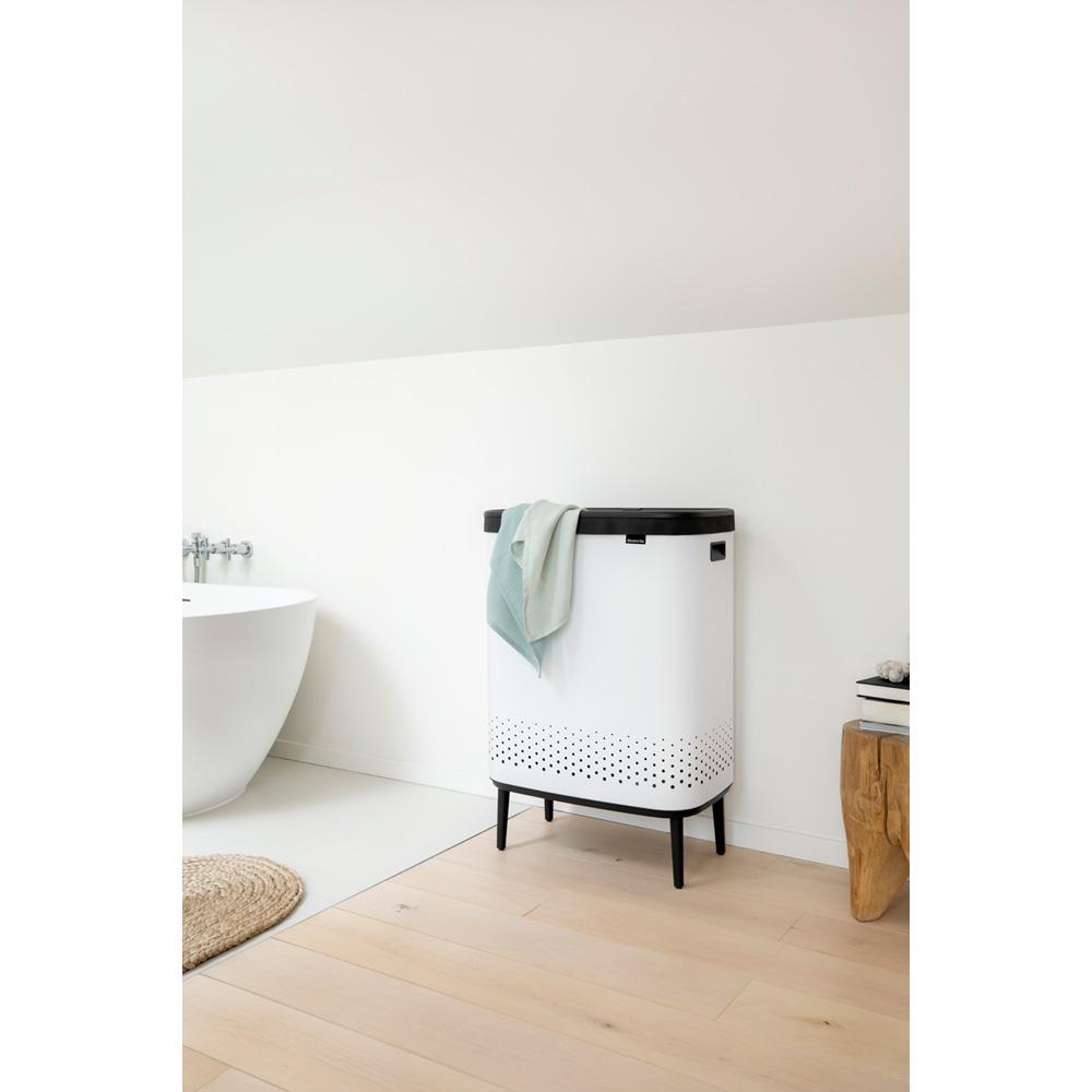Кош за пране Brabantia Bo 2x45L, White(10)
