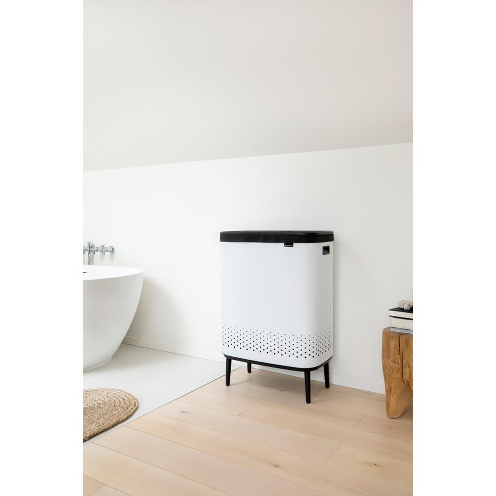 Кош за пране Brabantia Bo 2x45L, White(11)