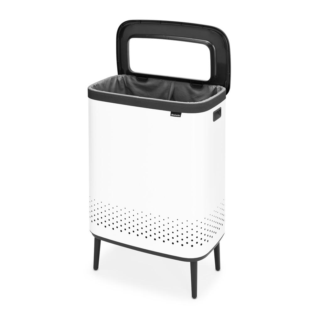 Кош за пране Brabantia Bo 2x45L, White(12)
