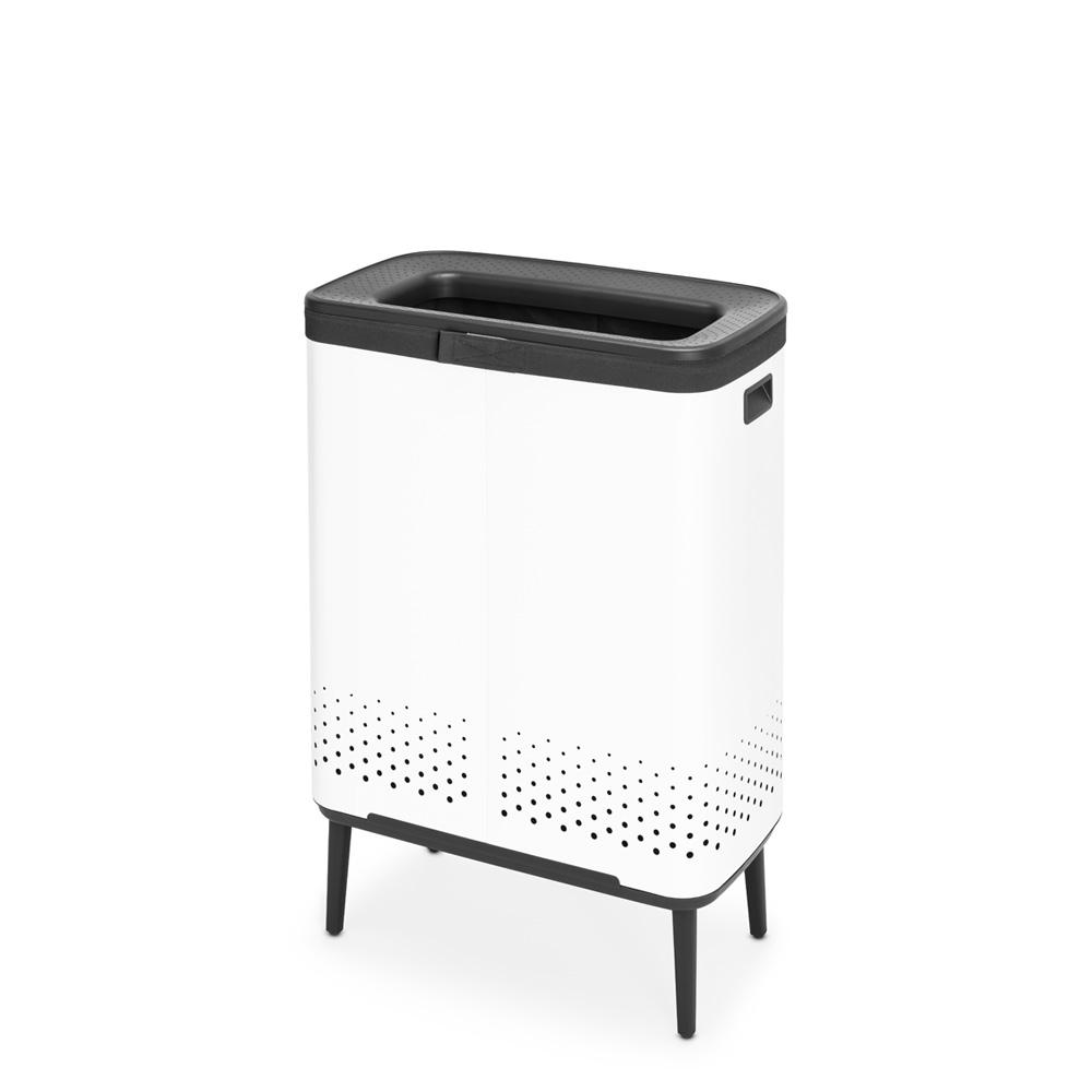 Кош за пране Brabantia Bo 2x45L, White(2)