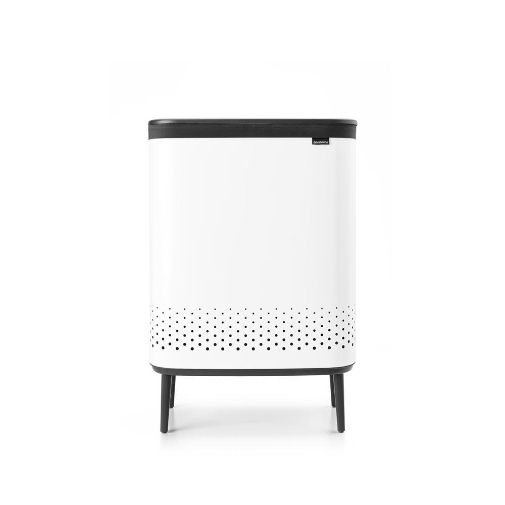 Кош за пране Brabantia Bo 2x45L, White(3)