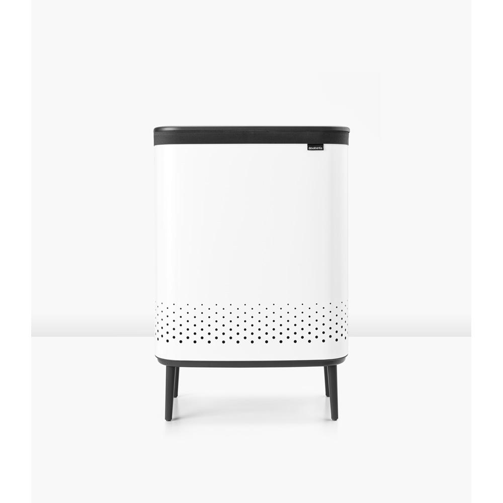 Кош за пране Brabantia Bo 2x45L, White(7)