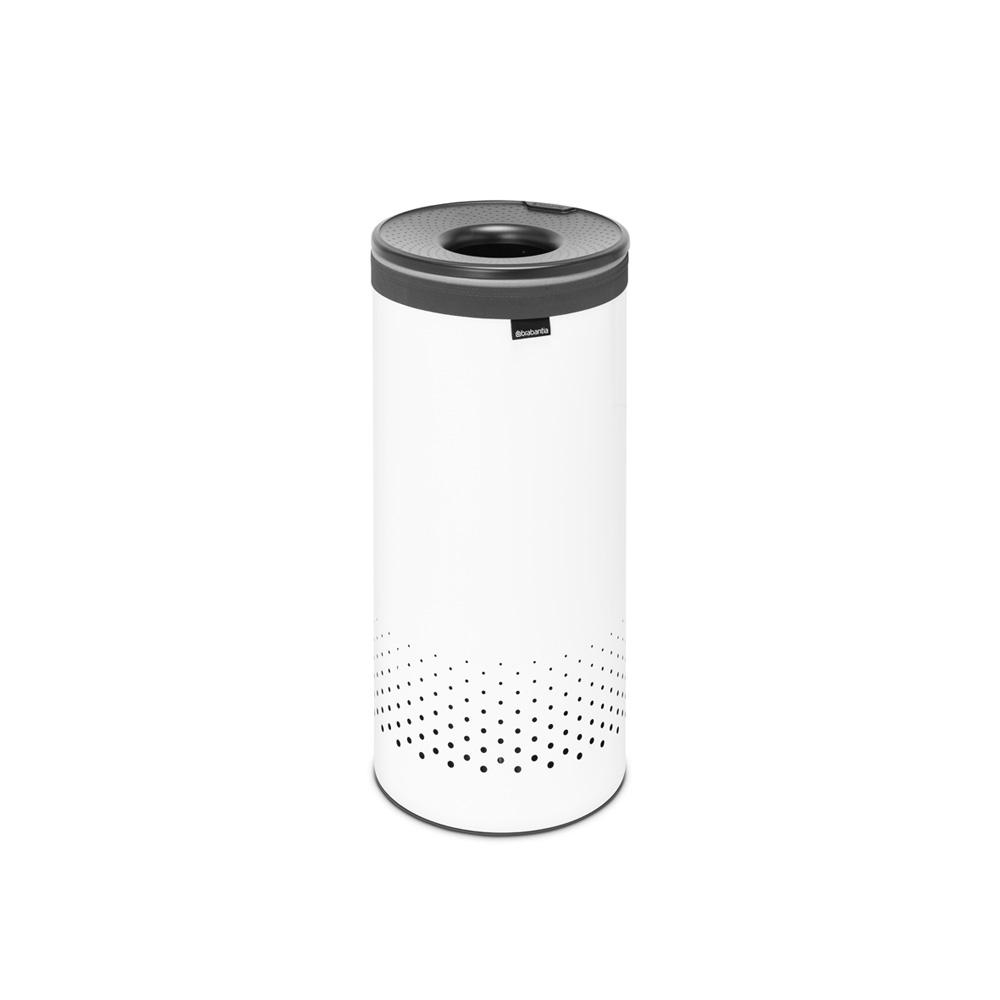 Кош за пране Brabantia 35L, White, пластмасов капак