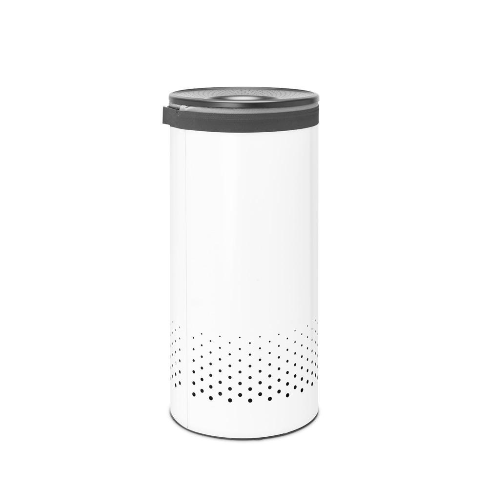 Кош за пране Brabantia 35L, White, пластмасов капак(2)