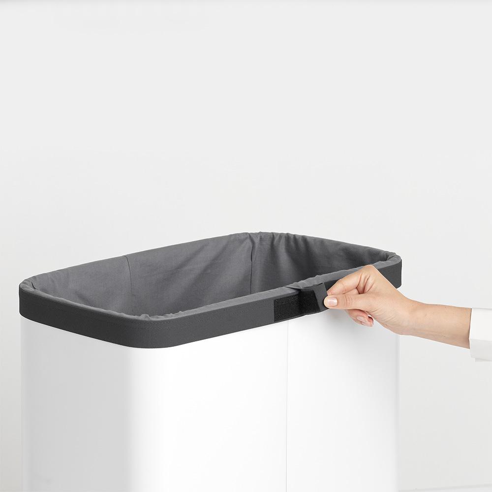 Торба за пране Brabantia за кош за пране Brabantia Bo, 60L, Grey(3)