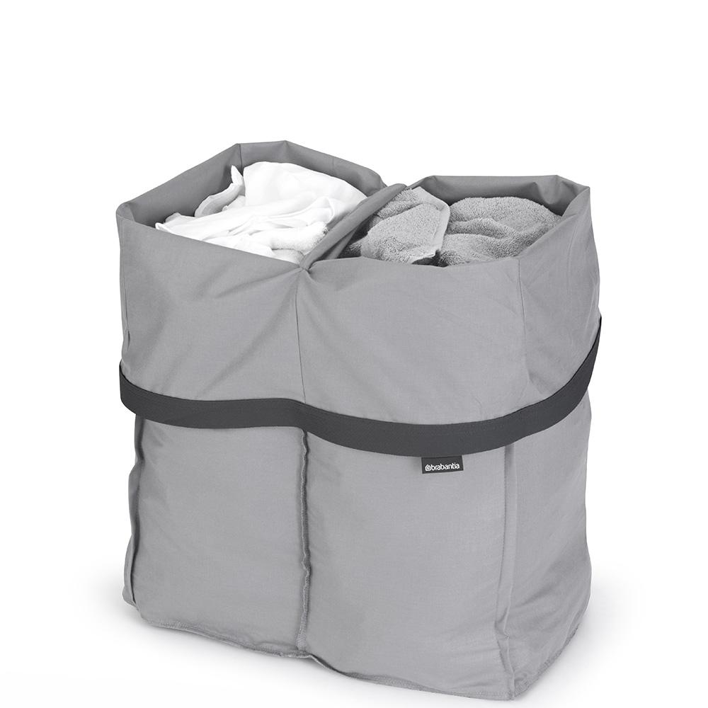 Торба за пране Brabantia за кош за пране Brabantia Bo, 2x45L, Grey(1)