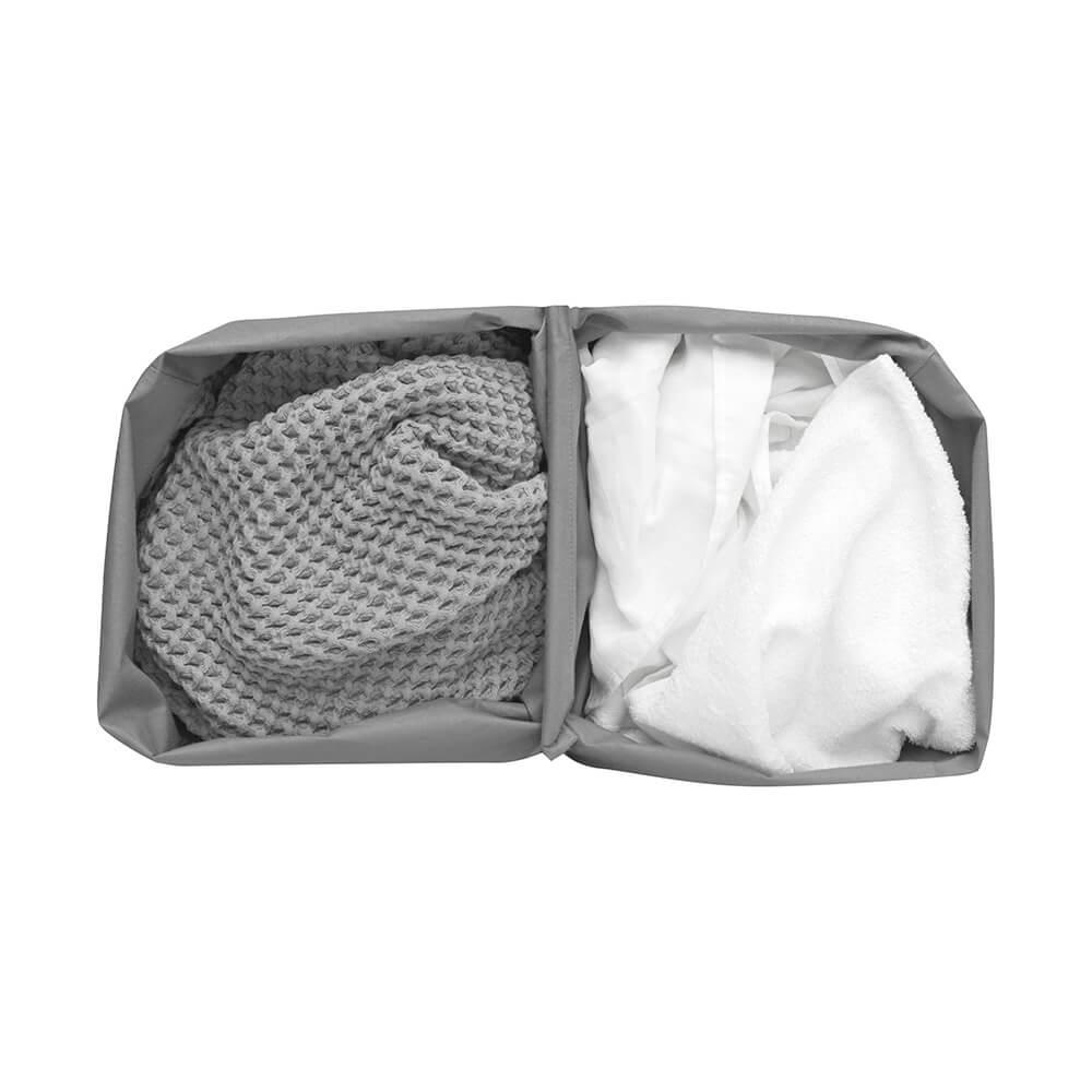 Торба за пране Brabantia за кош за пране Brabantia Bo, 2x45L, Grey(2)
