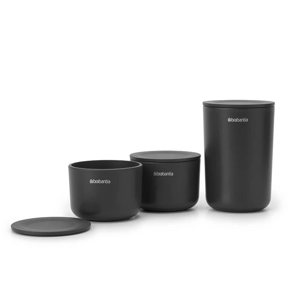 Комплект за съхранение на принадлежности Brabantia, Dark Grey, 3 части(3)