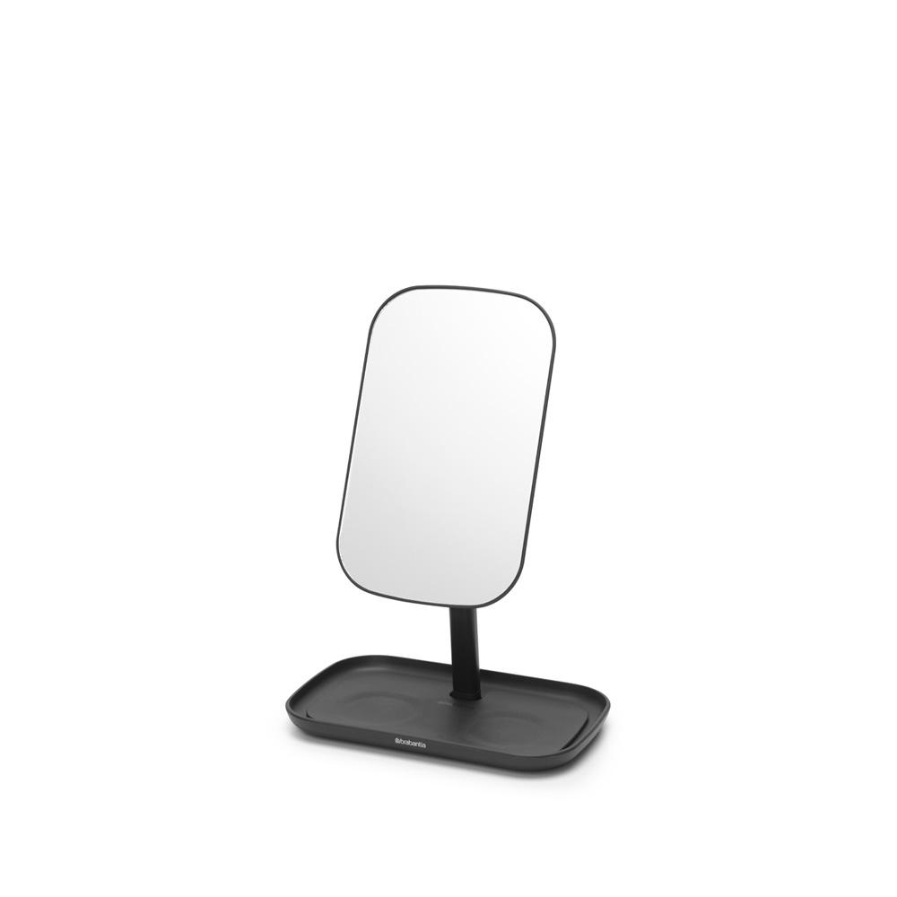 Огледало с поставка за принадлежности Brabantia, Dark Grey(1)