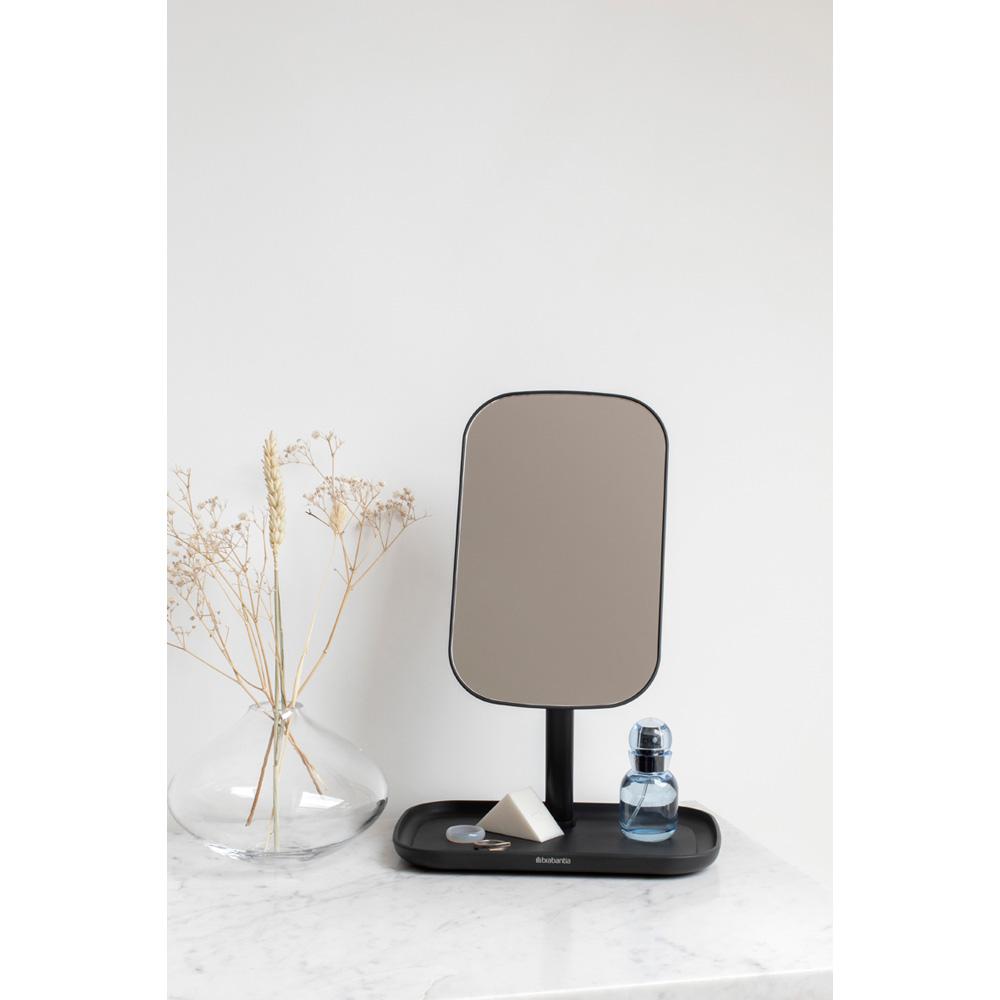 Огледало с поставка за принадлежности Brabantia, Dark Grey(10)