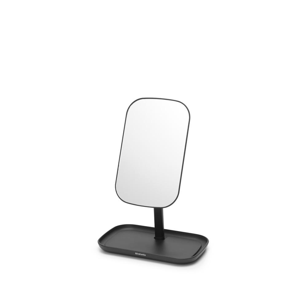 Огледало с поставка за принадлежности Brabantia, Dark Grey(3)