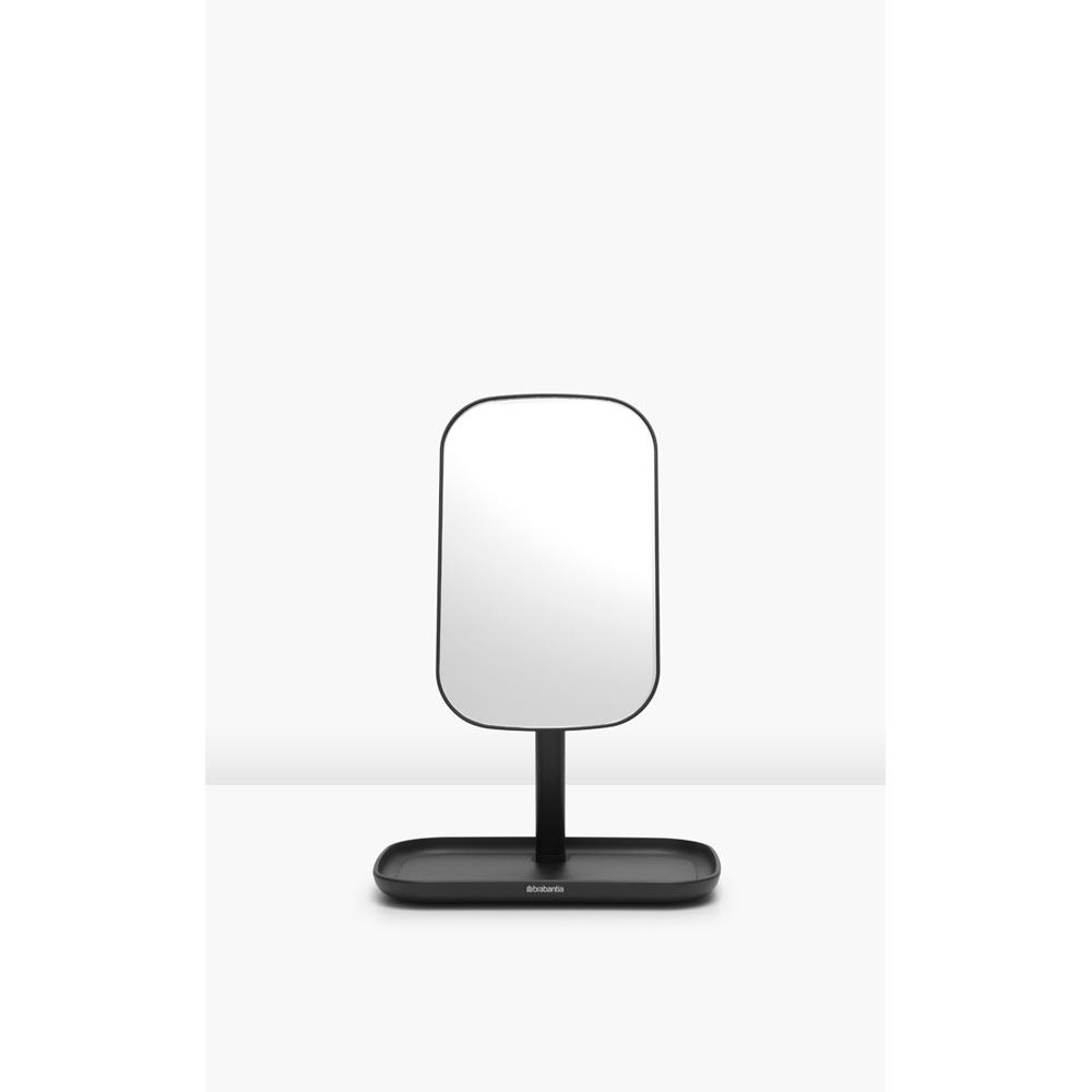 Огледало с поставка за принадлежности Brabantia, Dark Grey(7)