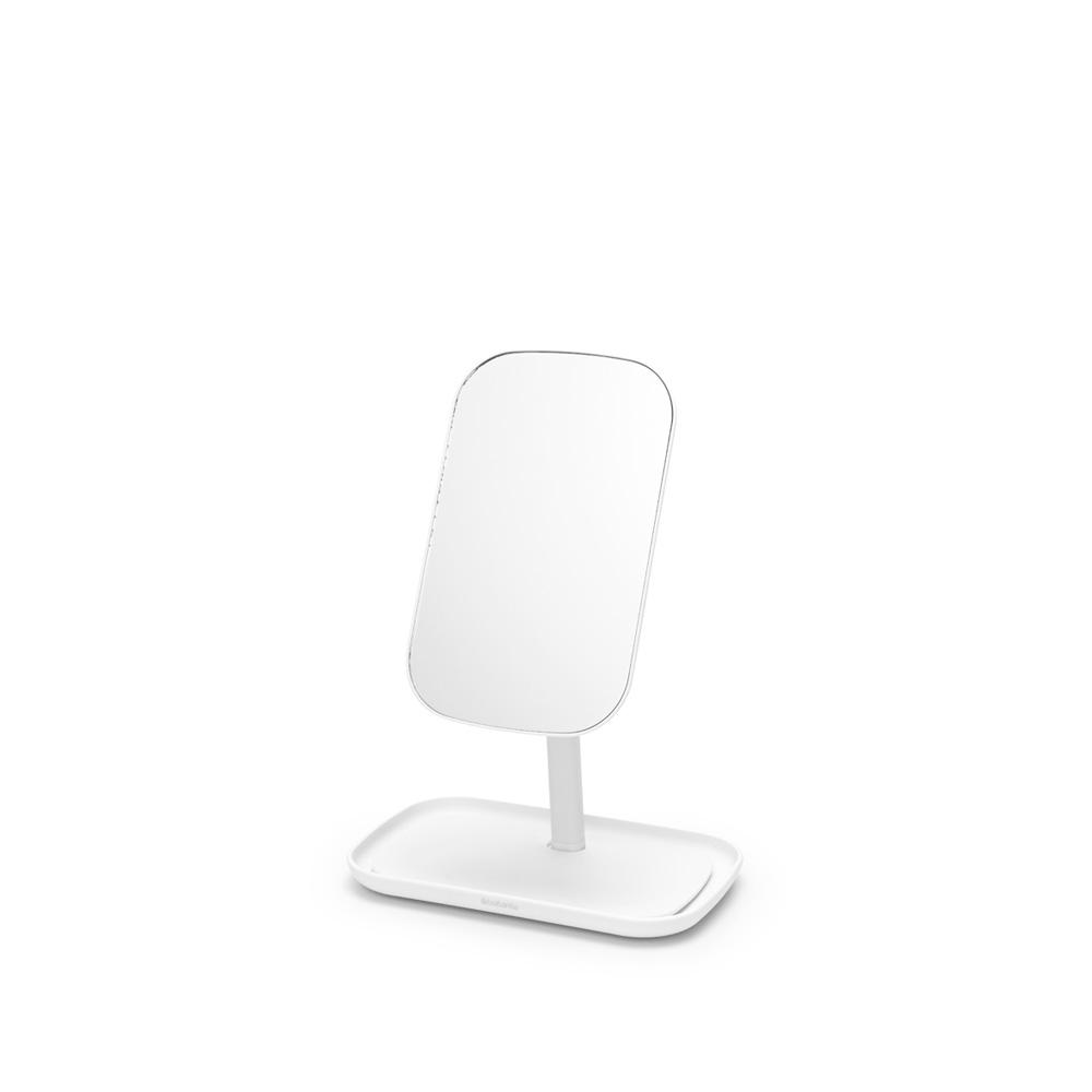Огледало с поставка за принадлежности Brabantia, White(1)