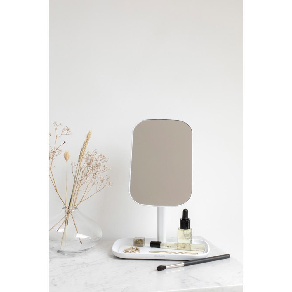 Огледало с поставка за принадлежности Brabantia, White(10)