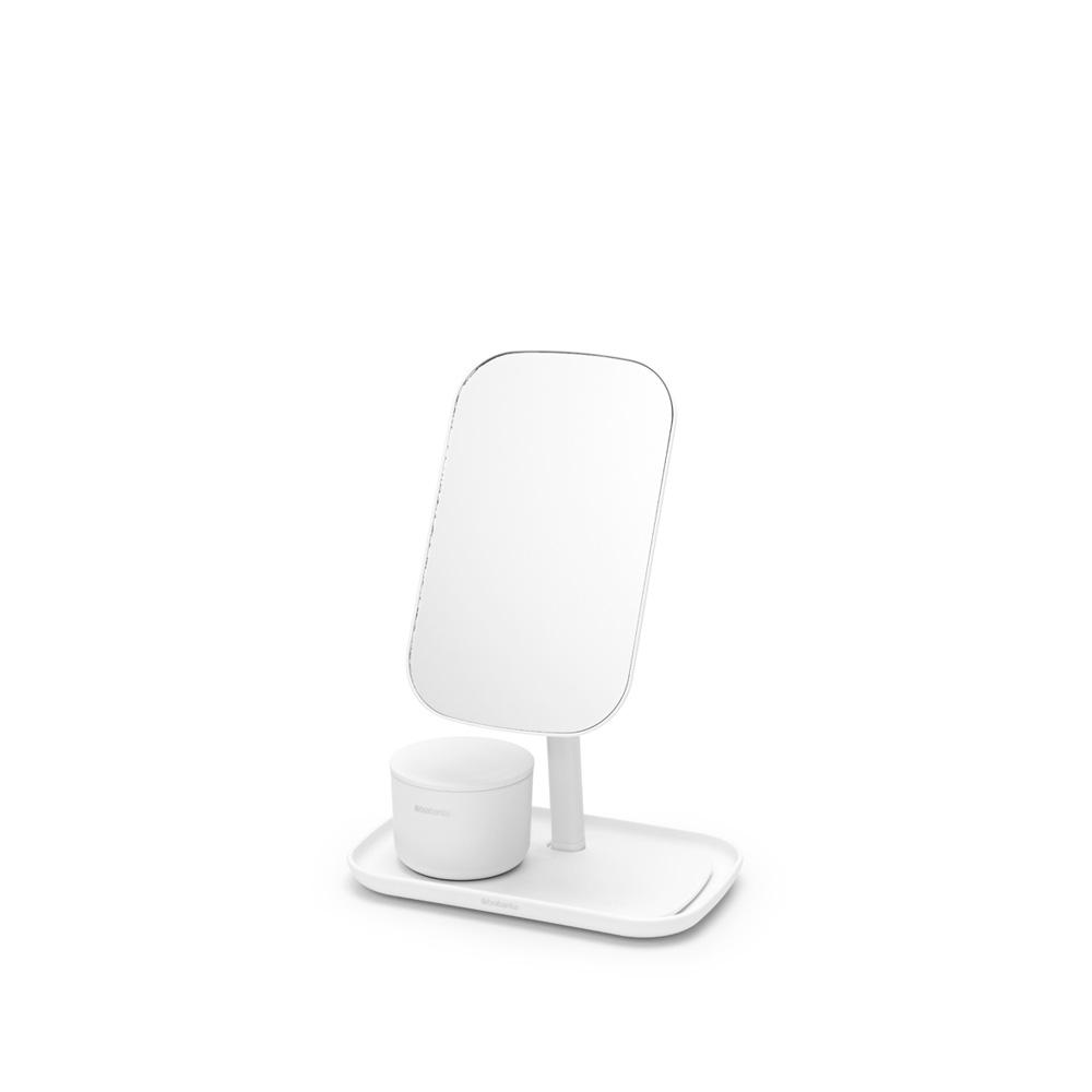 Огледало с поставка за принадлежности Brabantia, White(2)