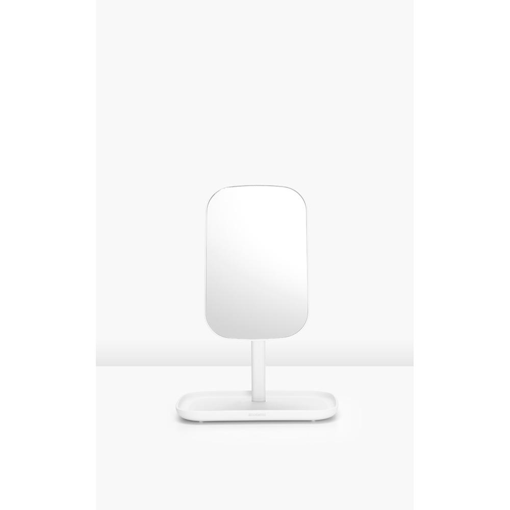 Огледало с поставка за принадлежности Brabantia, White(7)