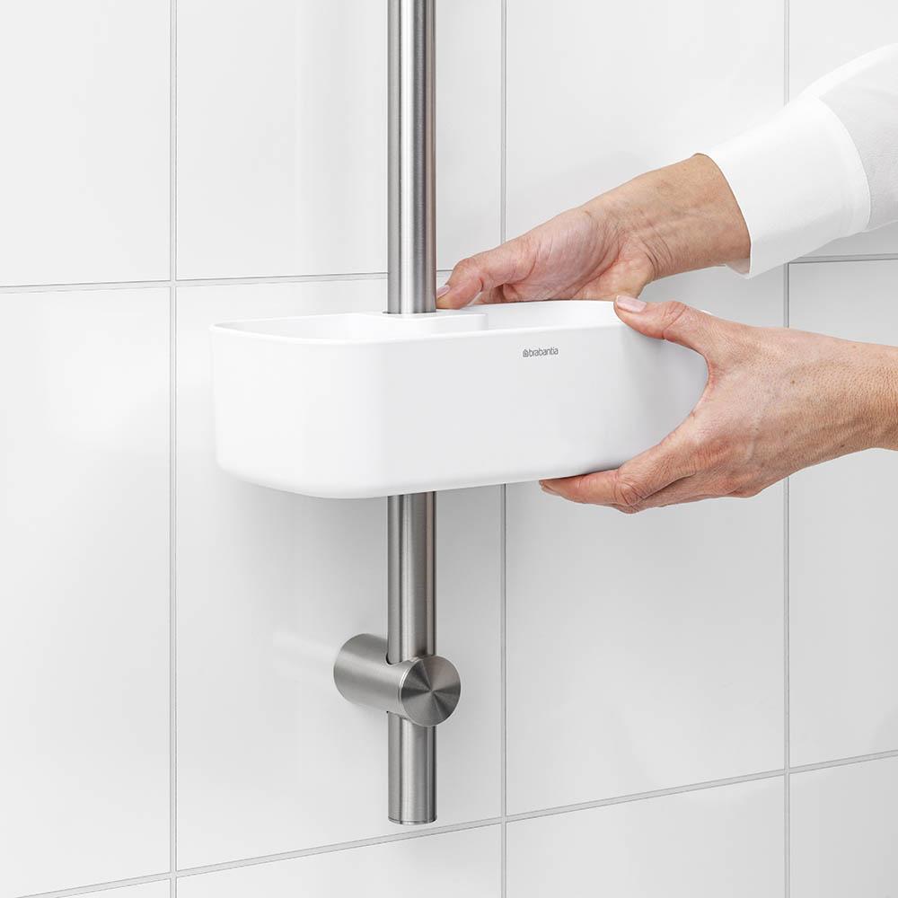 Органайзер за душ Brabantia, White(10)