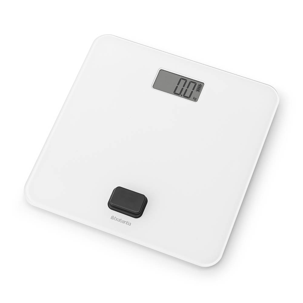 Дигитална везна за баня Brabantia, работа без батерии, White(1)