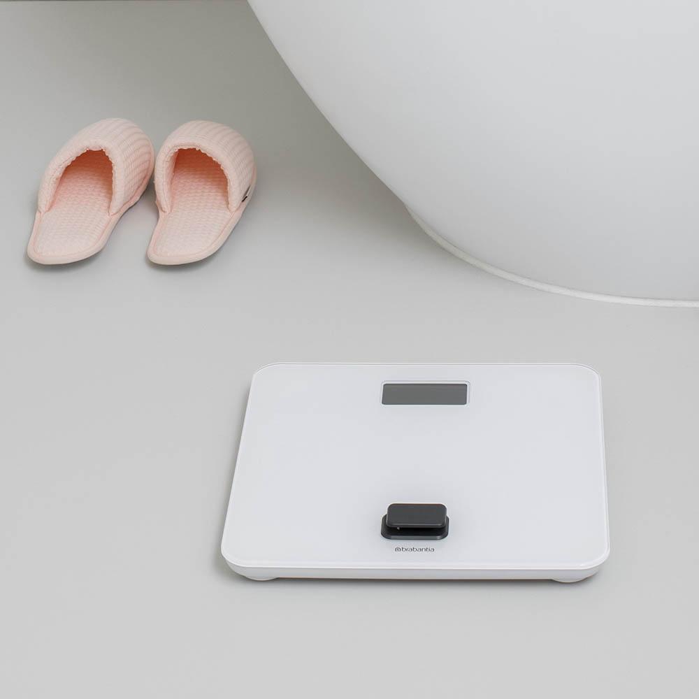 Дигитална везна за баня Brabantia, работа без батерии, White(10)