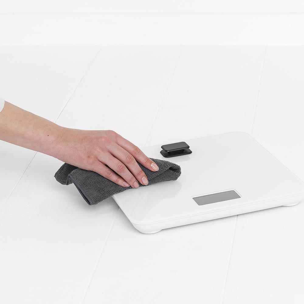 Дигитална везна за баня Brabantia, работа без батерии, White(12)