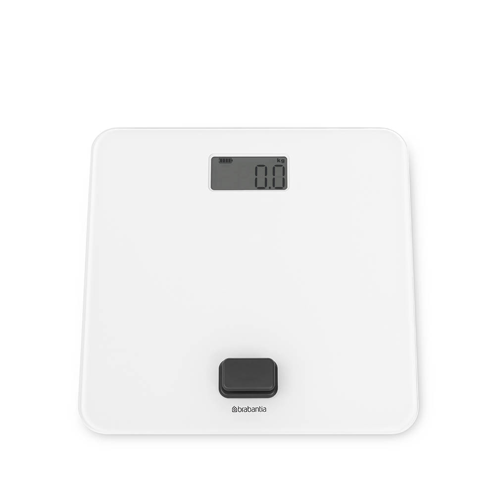 Дигитална везна за баня Brabantia, работа без батерии, White(6)