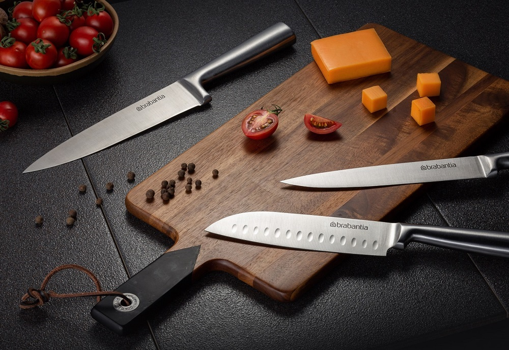 Комплект от 6 ножа Brabantia Blade и акациева стойка(3)
