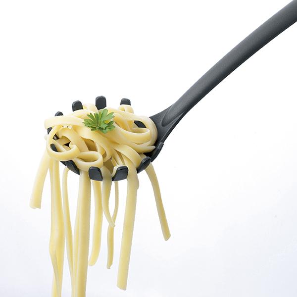 Лъжица за спагети Brabantia Black Nylon с незалепващо покритие(1)