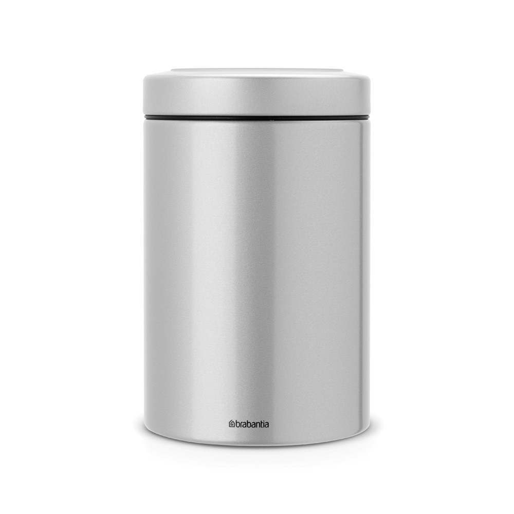 Буркан Brabantia Window Lid 1.4L, Metallic Grey