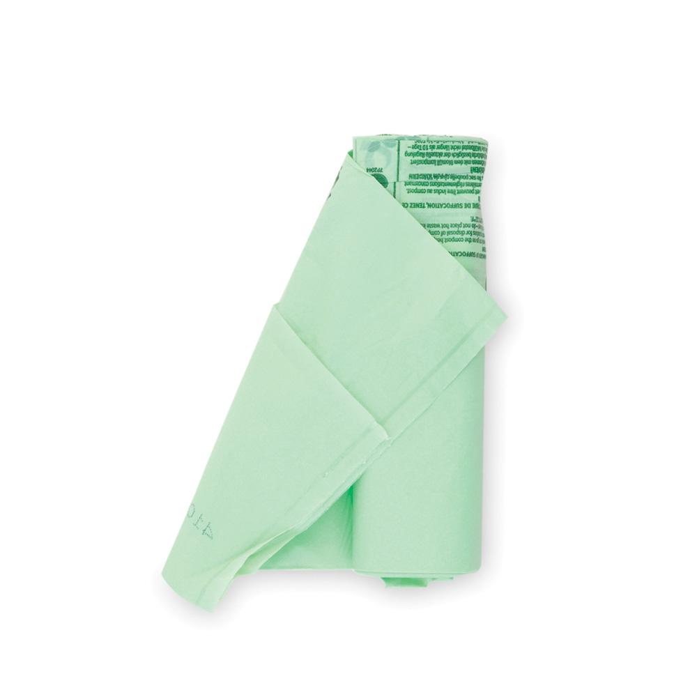 Торба за кош Brabantia размер C, 10-12L, 10 броя, зелени, биоразградими(1)