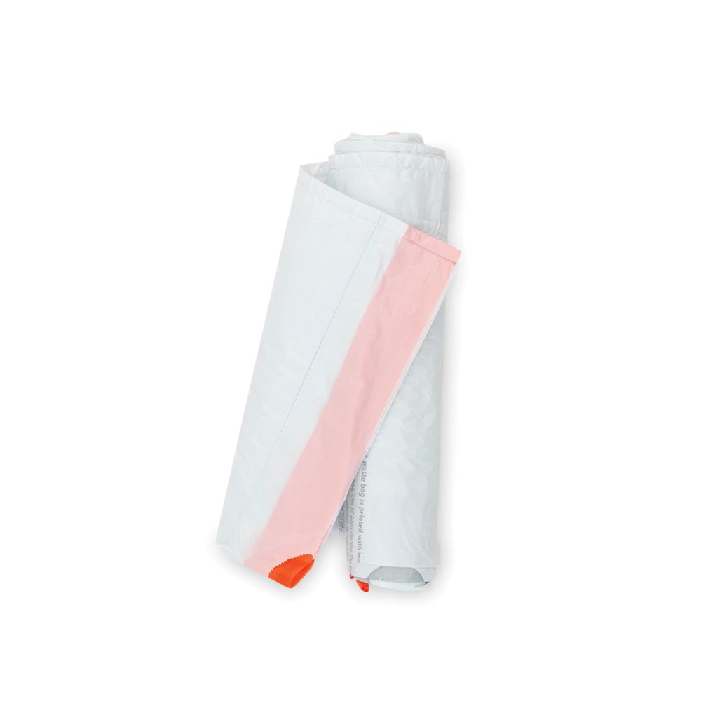 Торба за кош Brabantia размер B, 5L, 20 броя, бели(1)