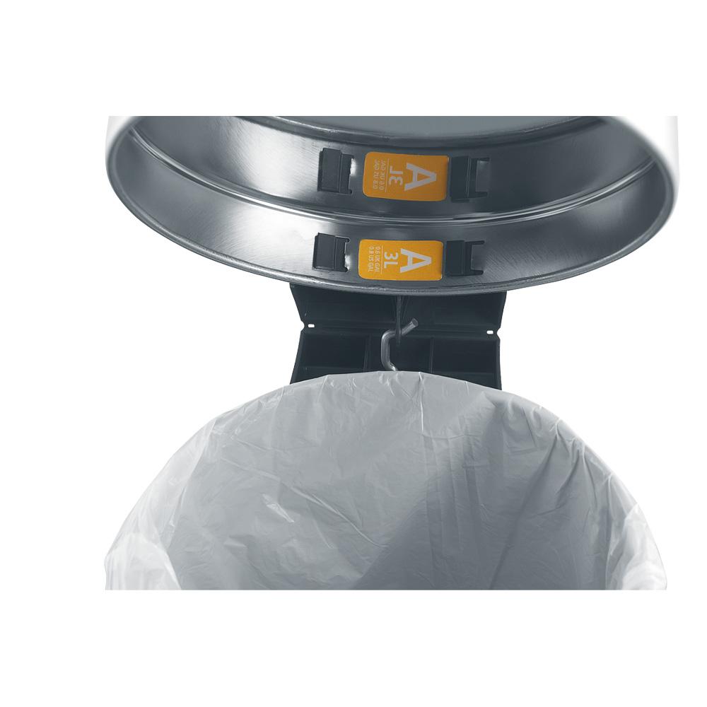 Торба за кош Brabantia размер A, 3L, 60 броя, бели(2)