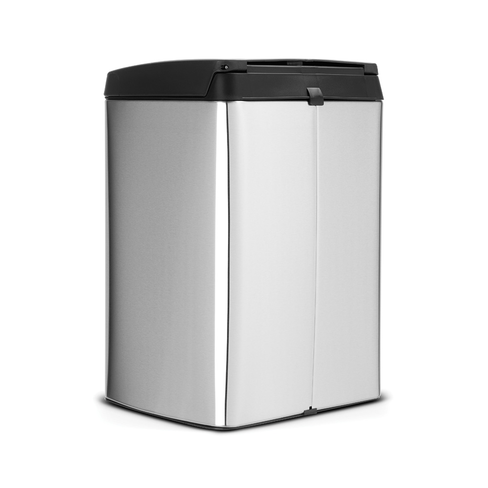 Кош за смет с педал Brabantia Silent 10L, Matt Steel Fingerprint Proof(2)