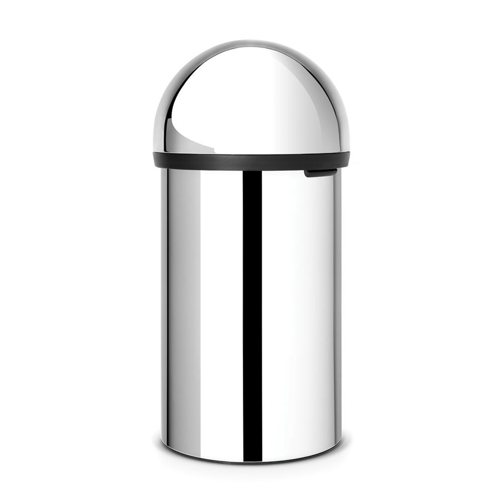 Кош за смет Brabantia Push 60L, Brilliant Steel(2)