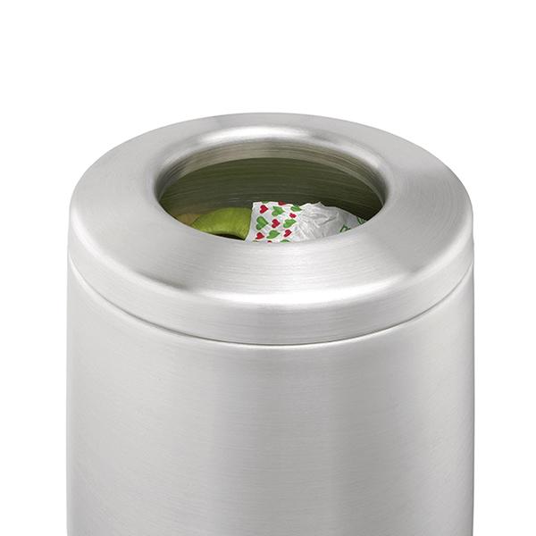 Кош за смет за маса Brabantia 2.3L, Matt Steel, метален капак(2)
