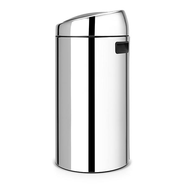 Кош за смет Brabantia Touch Bin 2x20L, Brilliant Steel(1)
