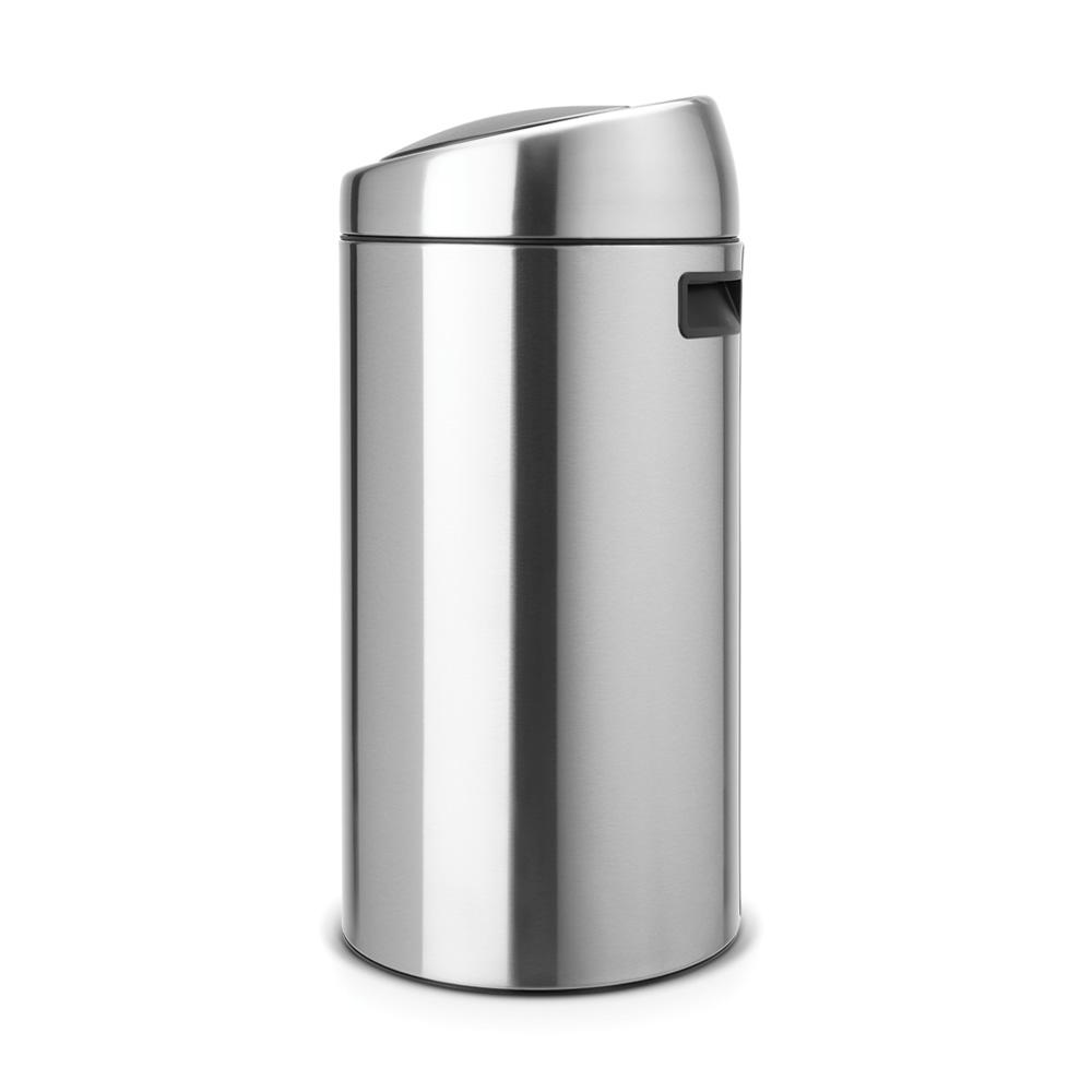 Кош за смет Brabantia Touch Bin 2x20L, Matt Steel Fingerprint Proof(2)