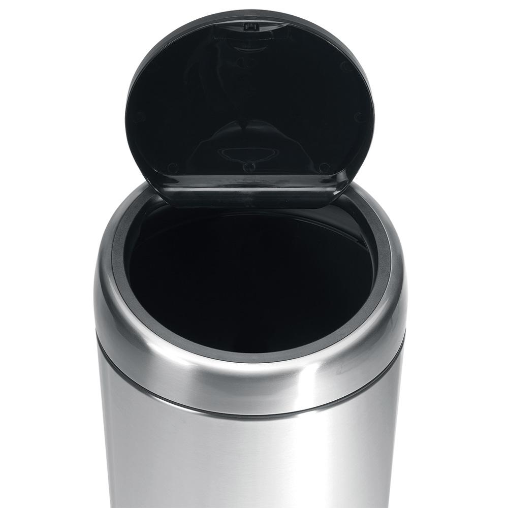 Кош за смет Brabantia Touch Bin 2x20L, Matt Steel Fingerprint Proof(3)