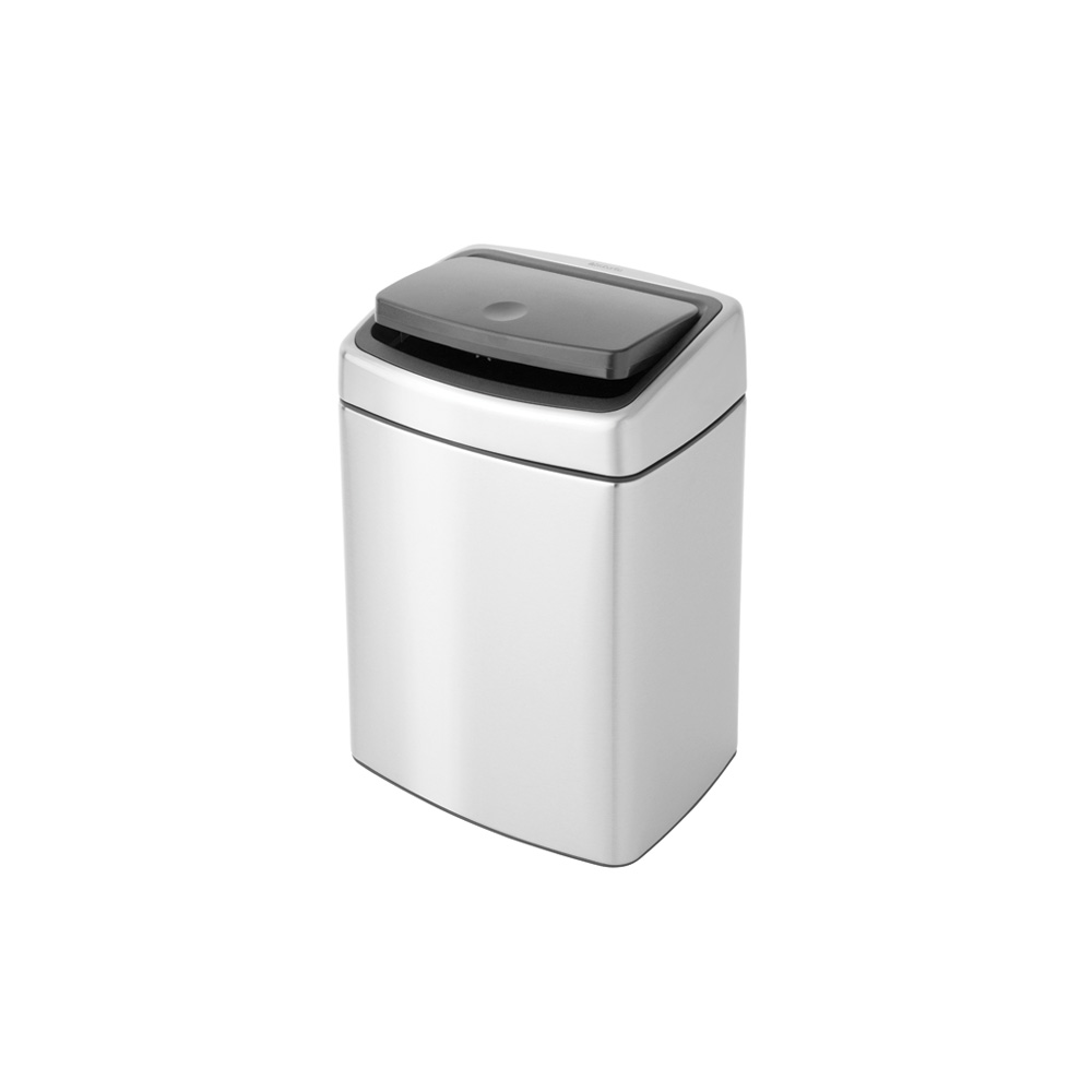 Кош за смет Brabantia Touch Bin 10L, Matt Steel Fingerprint Proof(2)