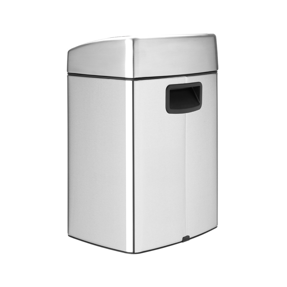 Кош за смет Brabantia Touch Bin 10L, Matt Steel Fingerprint Proof(3)