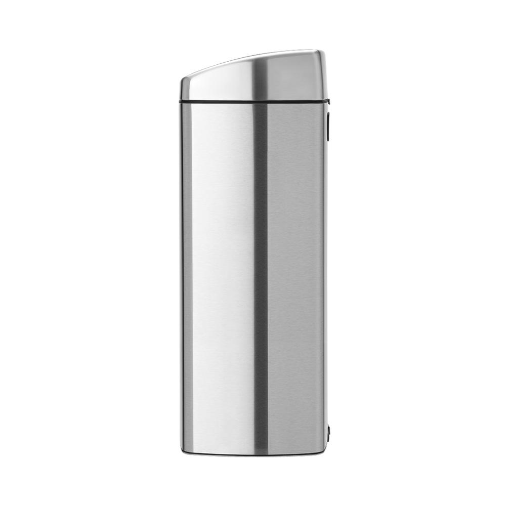 Кош за смет Brabantia Touch Bin 25L, Matt Steel Fingerprint Proof(1)