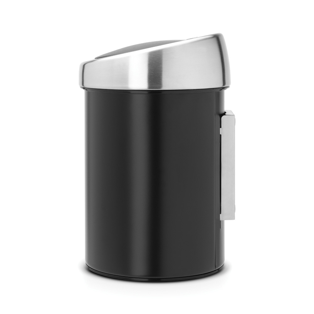 Кош за смет Brabantia Touch Bin 3L, Matt Black(1)